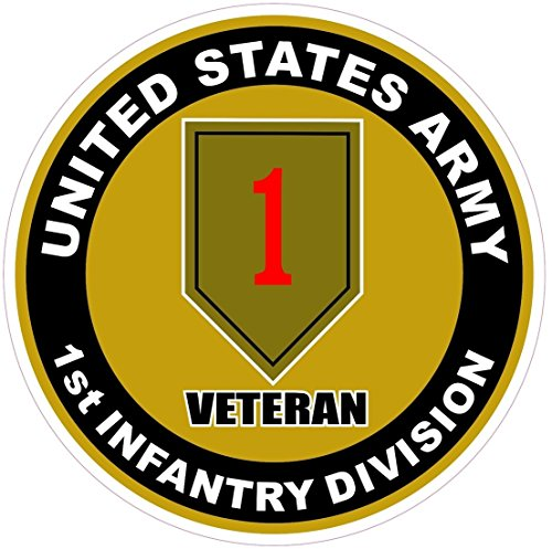 1-pc-preeminent-popular-us-army-1st-infantry-division-veteran-stickers-signs-decor-car-decals-outdoo
