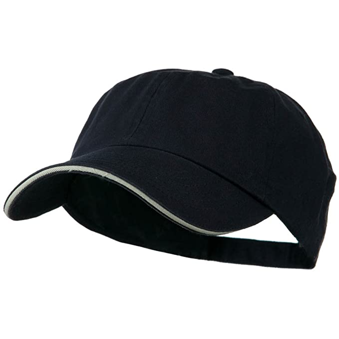 8aa6630429c MG Low Profile Cotton Twill Cap - Navy Putty OSFM at Amazon Men s ...