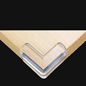 Baby Proofing Corner Guards Soft and Transparent Tasteless Corner Covers for Furniture Sharp Corner 24 Count