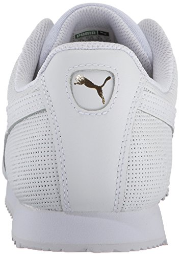 for sale online store free shipping buy PUMA Men's Roma Classic Perf Sneaker Puma White-puma Team Gold-puma White UgIiLGz3D