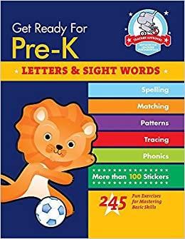 Amazon.com: Get Ready for Pre-K: Letters & Sight Words: 245 ...