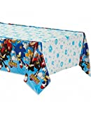 Amscan Sonic the Hedgehog Plastic Tablecover, multi-colored,