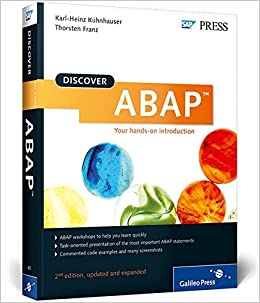 Buy Discover ABAP (Discover Sap Press) Book Online at Low