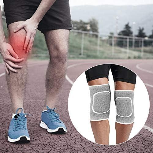 HURRISE膝サポートメニスカス調節可能スポーツ靭帯オープンボールジョイントプロテクター、モトクロス、バレーボール、作業、サッカー、バスケットボール、関節炎(グレー)