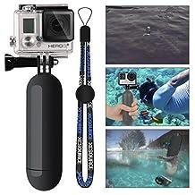 XCSOURCE® Monopod Diving Floaty Floating Hand Grip Handle + Screw + Wrist Strap Accessory Float For Gopro Hero 2 3 3+ 4 SJ4000/SJ5000 Black OS99