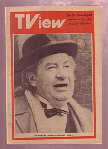 Tview February 1981  Leo Mckern The New Haven Register Fn