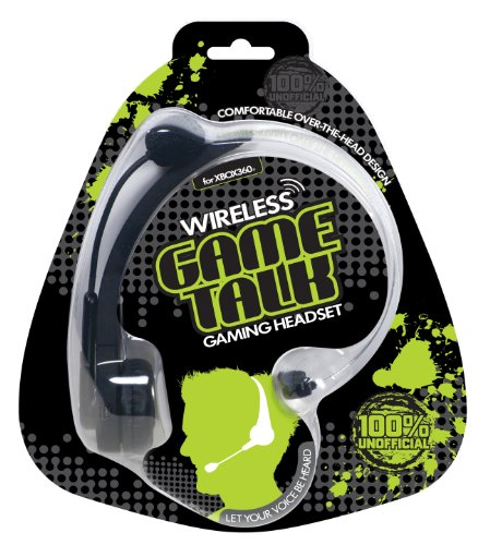 Xbox 360 Game Talk Wireless Headset Datel Xbox 360