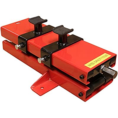 Low Profile Motorcycle Scissor Jack with Bolt Down Tabs