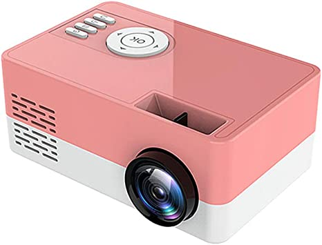 Opinión sobre QK Proyector, Proyector de películas, Proyector de Video Full HD 1080p, Admite Pantalla de 20-80 '' HDMI/USB/TF