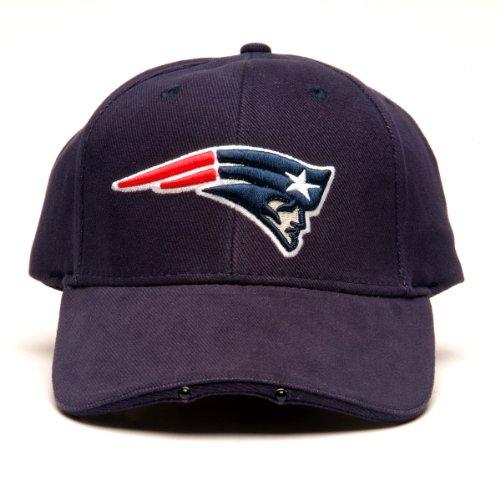 NFL New England Patriots Dual LED Headlight Adjustable Hat
