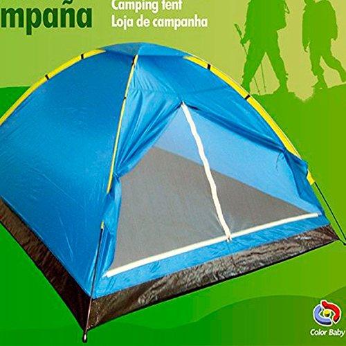 Aktive 52550 Dome tent voor 2 personen, 200 x 120 x 100 cm