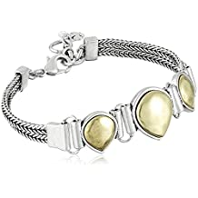 Lucky Brand Two Tone Link Bracelet