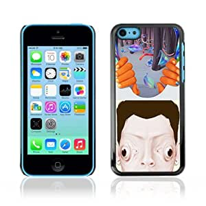Designer Depo Hard Protection Case for Apple iPhone 5C / Abstract Psychedelic Art