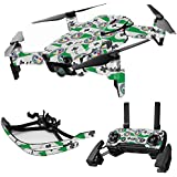 MightySkins Skin For DJI Max Coverage - Retro Controllers 1 | Protective, Durable, and Unique Vinyl Decal wrap cover | Easy To Apply, Remove, and Change Styles | Made in the USA