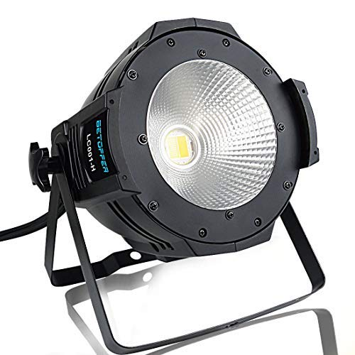 Betopper 100W COB DJ Wash Par Lights Super Bright LED Stage Lighting(One of the Most Professional Kits)