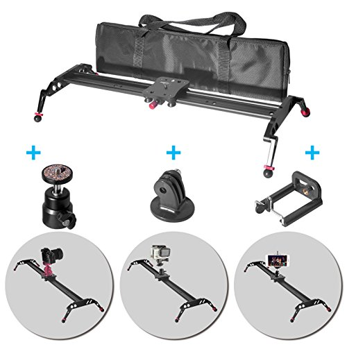 Fomito Upgraded Camera Slider Stabilization