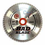 9 in saw blade - KwikTool USA BB900 C7 Bad Blade 9-Inch 56 Tooth With 5/8-Inch Arbor