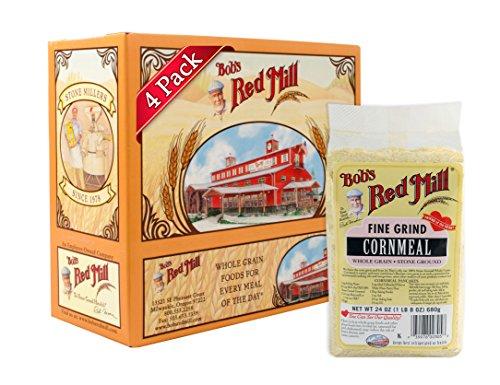 Cornmeal Pancake - Bob's Red Mill Fine Grind Cornmeal, 24-ounce (Pack of 4)