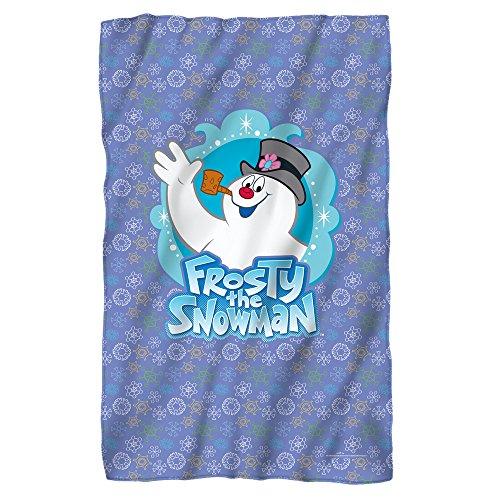 Frosty the Snowman Waving Fleece Blanket (Jimmy Christmas Rankin)
