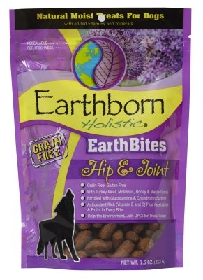 Earthborn Holistic Earthbite Dog Treats For Hip and Joint, 7.5 Ounce Pack