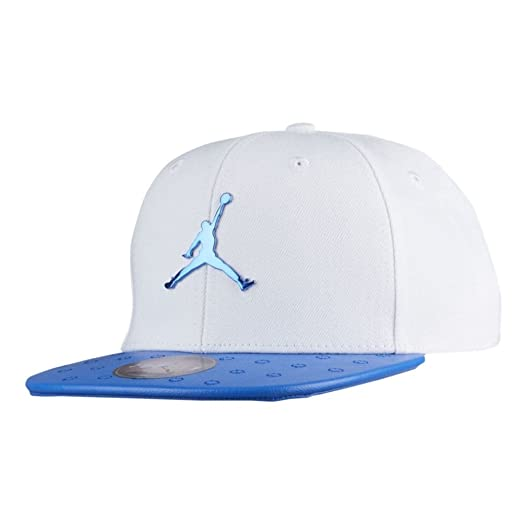cd0c072353e82b Amazon.com  Jordan Boy s Retro 13 Faux Leather Snapback Cap (White ...