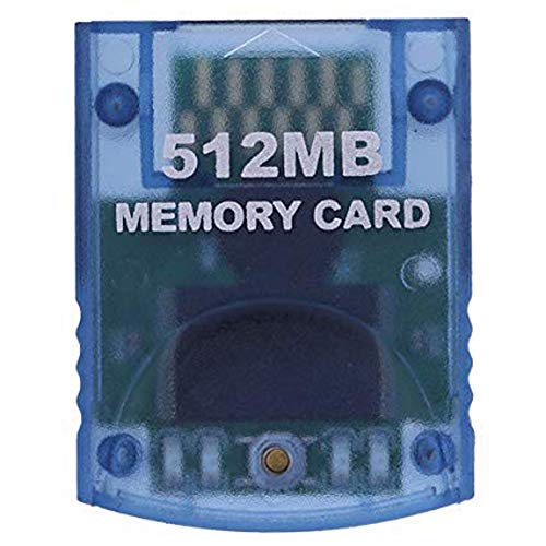 RGEEK 512MB High Speed Game Memory Card Compatible for Wii Gamecube (Best Memory Card For Wii)