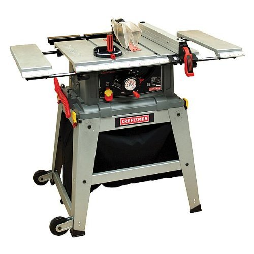 Craftsman 10″ Table Saw with Laser Trac 21807