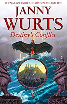 Destiny's Conflict by Janny Wurts epic fantasy book reviews