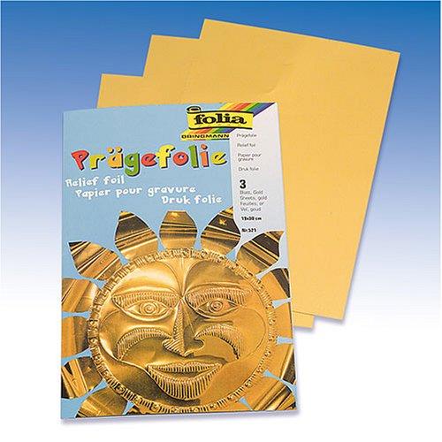 KnorrPrandell Gütermann 8260079 - Folia Fogli19x30cm, colore: Oro 218260079
