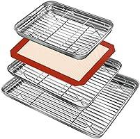 Baking Sheet and Rack Set (3 Sheets & 3 Racks)