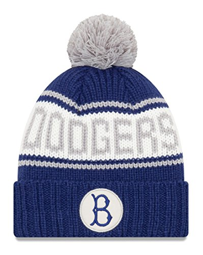 New Era Brooklyn Dodgers MLB 9Twenty Cooperstown Retro Patch Cuffed Knit ()