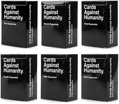 Cards Against Нumanity C A H Original Expansion Packs Bundle All 1 2 3 4 5 6