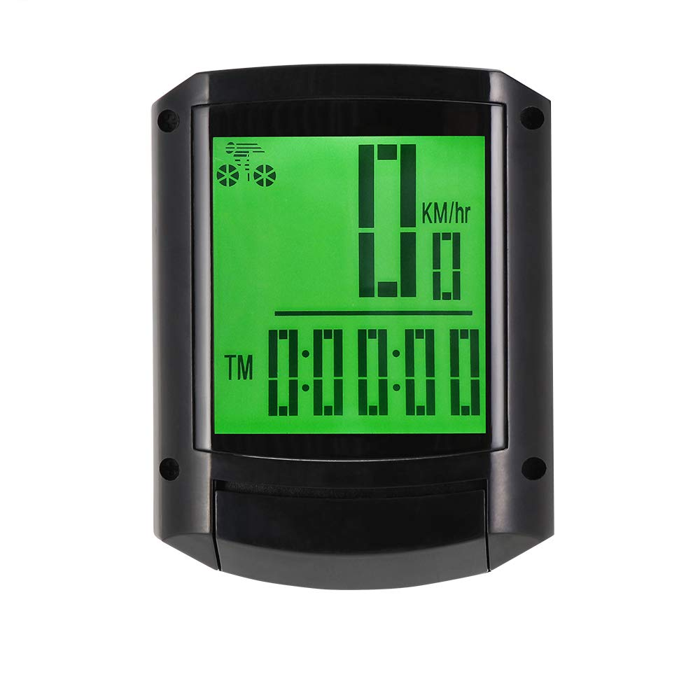 Thorfire Bike Computers W408 Wireless Bicycle Speedometer Waterproof Bike Odometer with LCD Display Cycle Computers, Auto & Multi-Function
