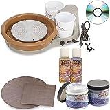 Speedball Portable Artista Table Top Pottery Wheel, 11 inch Wheel Head, 25 lb. Centering Capacity (ARTISTA)