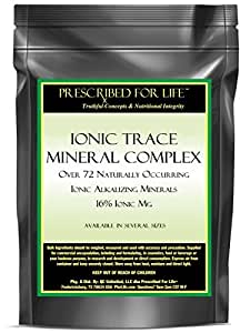 Ionic Trace Mineral Complex - Over 72 Naturally Occurring Ionic Alkalizing Minerals - 16% Ionic Mg, 5 lb