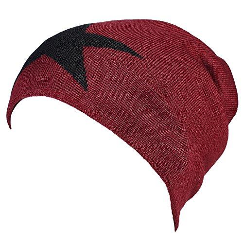 auditivos calient de señoras sombreros caliente Red Halloween gorros punto gorros cabeza punto hombres lana beanie gorros de de winter Sombreros tapas Navidad de tapas protectores MASTER punto Invierno BZSwS