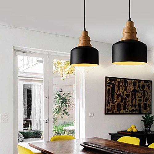 Black And Brass Pendant Light - 9