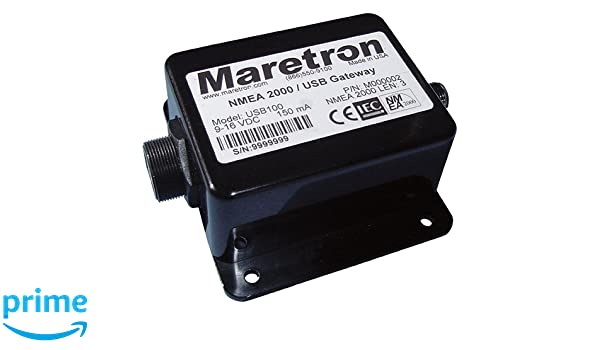 Maretron USB100-01, NMEA 2000/USB Gateway: Amazon ca: Sports & Outdoors