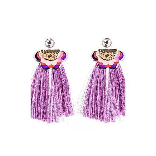 MJW&EH Femme Boucles d'oreille goujon Boucles d'oreille goutte Zircon Personnalisé Mode Zircon Alliage Fleur Bijoux Soirée Plein Air Bijoux de , one size