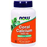 NOW Coral Calcium 1000 mg,100 Veg Capsules