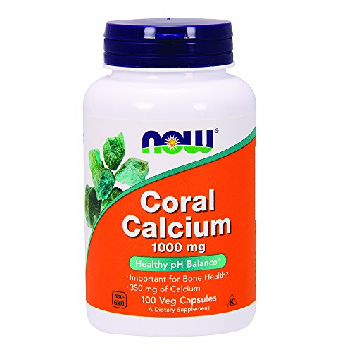 NOW Coral Calcium 1000 mg,100 Veg Capsules Review