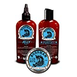 Best Hair Growth Products for Men Bossman Beard Kit - Beard Oil, Conditioner, and Balm (Magic Scent)