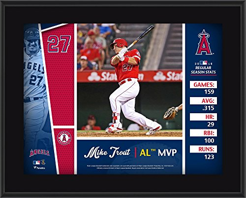 Mike Trout Los Angeles Angels 10.5