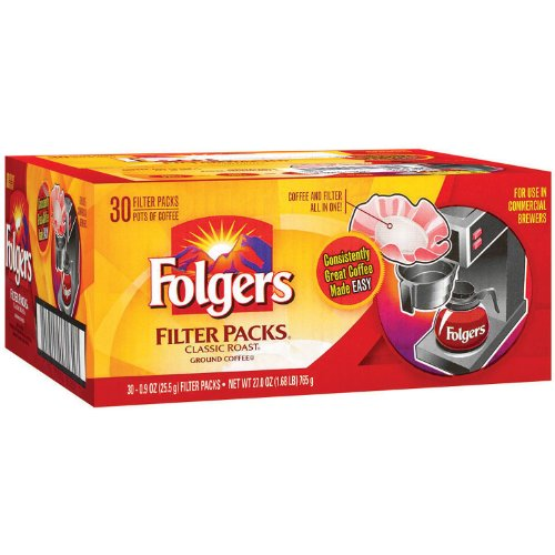 (Folgers Filter Packs Classic Roast - 30ct)