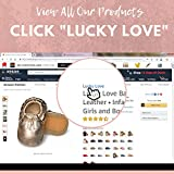 Lucky Love First Walking Shoes for Baby Girls Rose