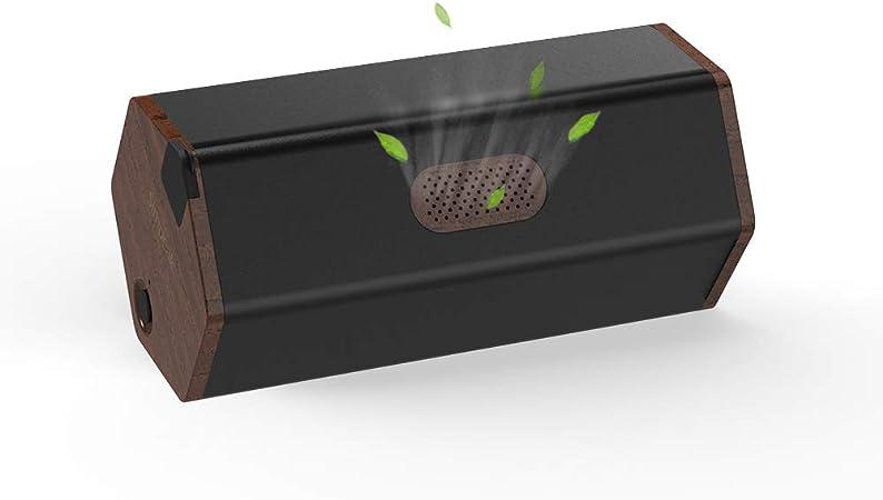 Simpeak Purificadores de Aire silencioso Portátil sin Filtro Negro, Purificador de Aire de Ozono Desodorante ...