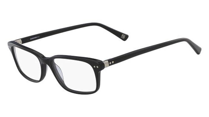 Eyeglasses MARCHON M-CORNELL 001 BLACK at Amazon Men\'s Clothing store: