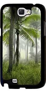 Funda para Samsung Galaxy Note 2 (GT-N7100) - Parque De Palmeras by WonderfulDreamPicture