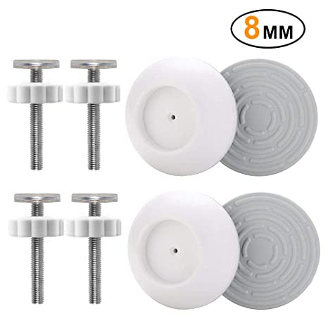 Replacement Hardware Parts Kit for /& 4 Pack 8MM Baby Gate Threaded Spindle Rod