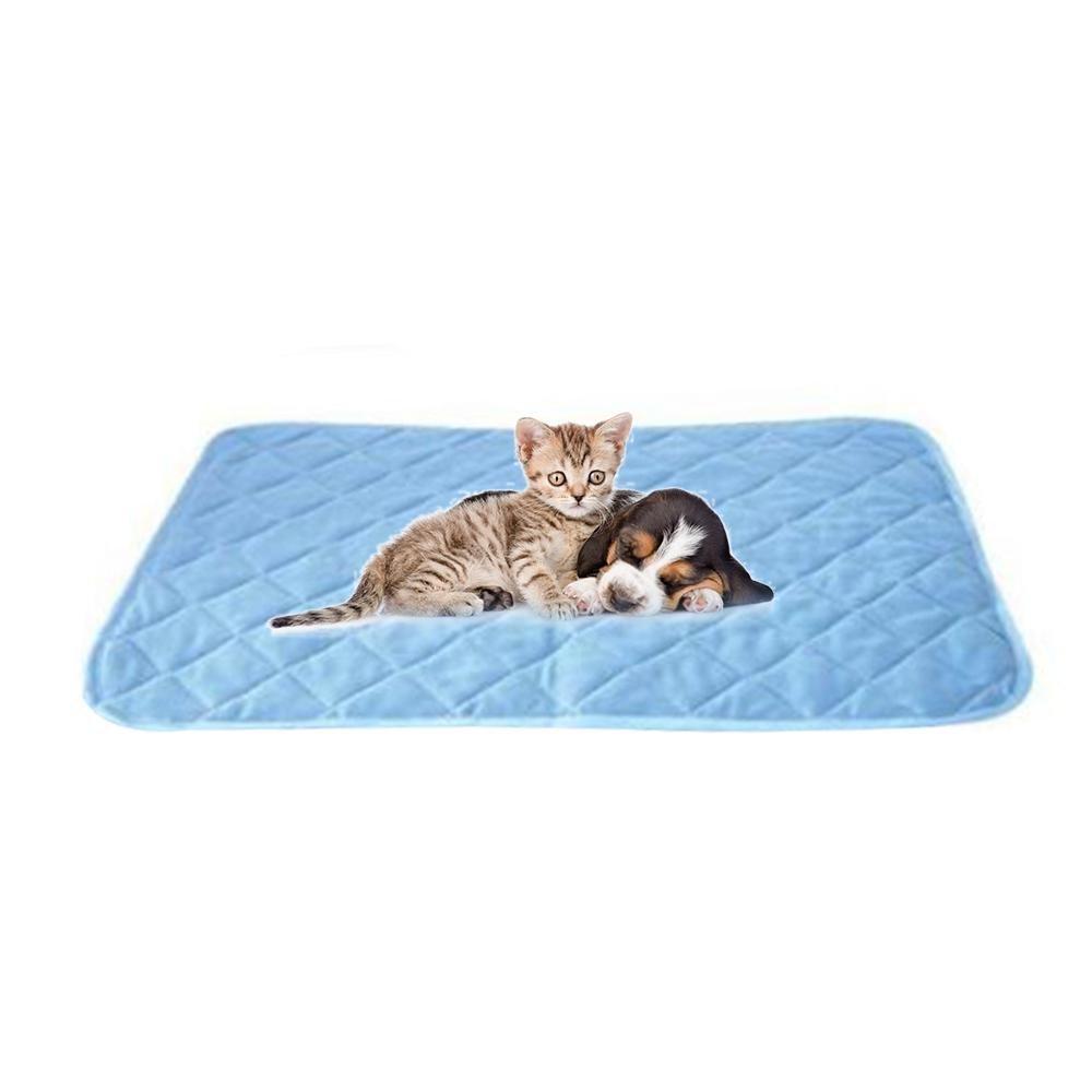 Leegoal Colchoneta Refrescante para Perros Verano, Cojin Enfriador para Mascotas, Camas Frias para Gatos, 90x60cm: Amazon.es: Productos para mascotas
